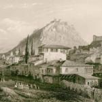 Άποψη του Ναυπλίου, George Newenham Wright (περ. 1842).