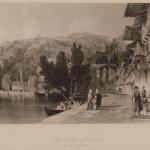 Άποψη των Χηλών στο Βόσπορο, από τον Thomas Allom (λίγο πριν το 1834).