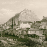 View of Nafplion, by George Newenham Wright (c. 1842).