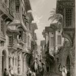 A Street in Smyrna, by Thomas Allom (shortly before 1834).
